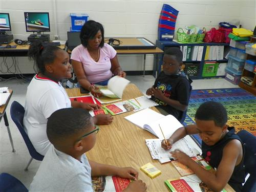 Students Attend Summer Reading Camp