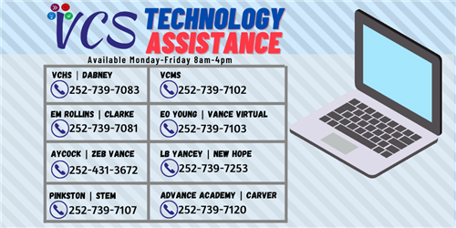 VCMS Technology Assistance
