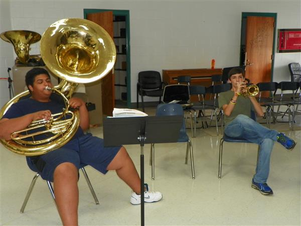 VCHS Hosts Band Camp