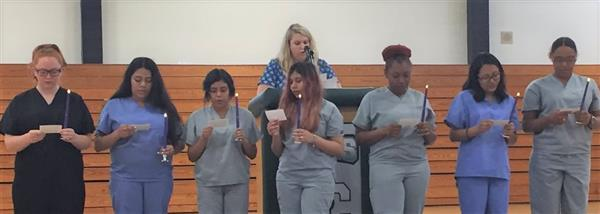 Ceremony Honors Nurse Aide Graduates