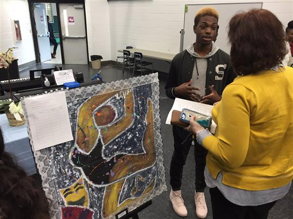 'Art of Protest' Features Students' Work