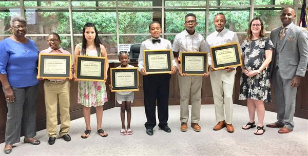 Board Recognizes Student Spotlight Winners