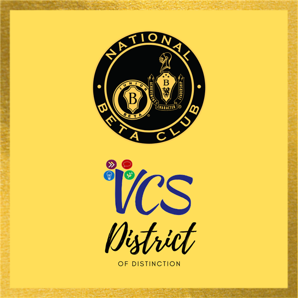 Vance County Schools receives National Beta District of Distinction honor!