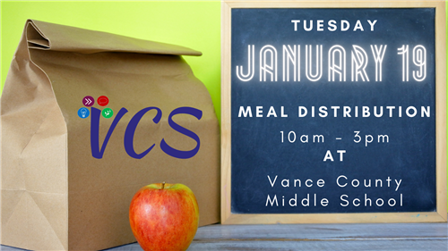 January 19 Meal Distribution Update