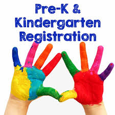 Pre-Kindergarten and Kindergarten Registration April 9 and 11