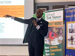 Dr. Jackson presented the State of Our Schools
