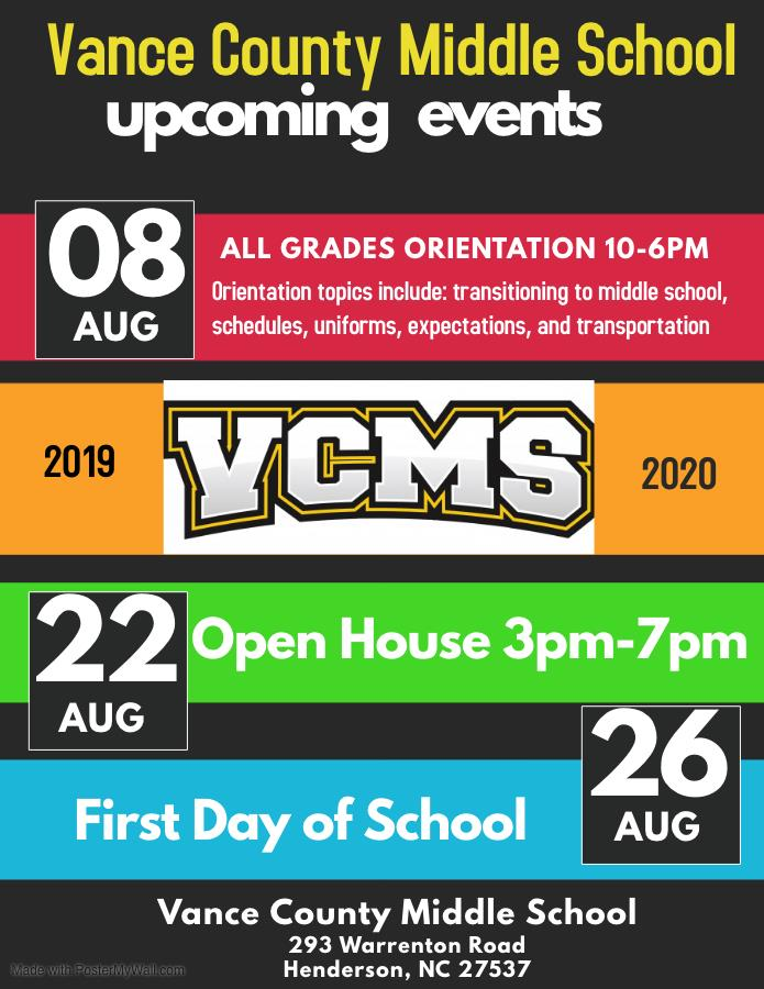 Vance County Middle School / Homepage